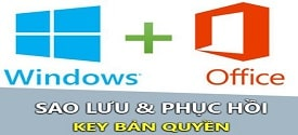 How to Backup and Restore Windows / Office license is very good