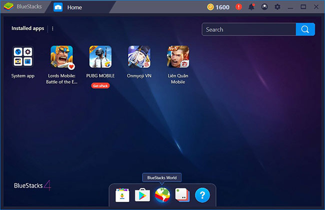 BlueStacks is the most popular Android emulator available today