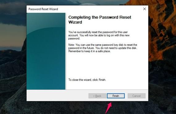 I-usb-reset-password-password-windows-10