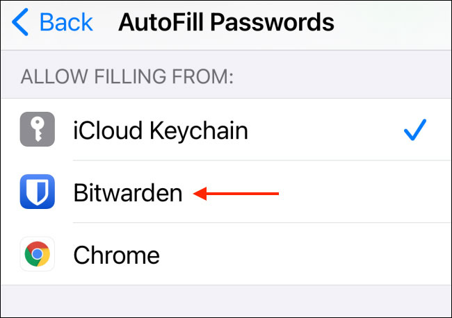 Choose a third-party password manager