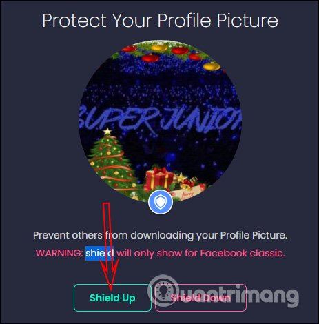Protect your Facebook profile picture