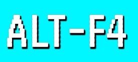Fix ALT+F4 key combination not working on Windows